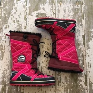 Sorel GLACY Womens Winter Snow Warm boots 8 39